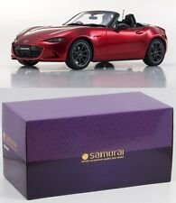 Kyosho Samurai 1/18 Mazda Roadster Red KSR18009R 600pcs Limited Tracking Number