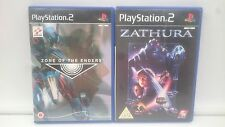 ZONE OF ENDERS + ZATHURA SONY PLAYSTATION PS2 PAL.ENVIOS COMBINADOS