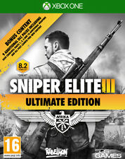 SNIPER ELITE III ULTIMATE EDITION XBOX ONE FIRST PERSON SHOOTER NEW OFFICIAL