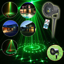 2x SUNY LED Projector RC Laser Lighting Garden Light Xmas Party ...:Waterproof Outdoor Laser Lights Projector Red+Green Moving lights W/ Remote  USA,Lighting