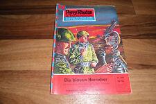 PERRY RHODAN  # 208 -- die BLAUEN HERRSCHER // 1. Auflage 1965 mit Rißzeichnung