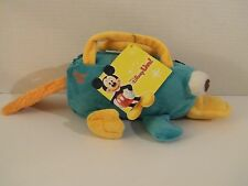 NWT Disney Phineas and Ferb Plush PERRY Platypus Purse Bag - HTF