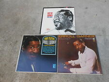 ERROLL GARNER-3 LP'S-SOLILOQUY-6 EYE-NOW PLAYING A NIGHT AT THE MOVIES-BEST OF