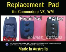 fits Holden Commodore VE CALAIS remote key - 3 button Repair Pad (1set )