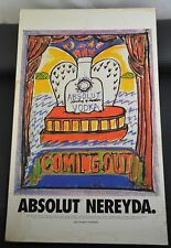 Absolut Vodka Coming Out Art Print Poster Advertisement - Nereyda Garcia Ferraz
