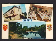 BUXEUIL (86) LILETTE / AUBERGE de L'ISLETTE , LOGIS DE FRANCE en 1984