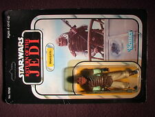 Star Wars VINTAGE 1983 Weequay Mint on Sealed Unpunch Card Kenner C-6 Cond ROTJ!