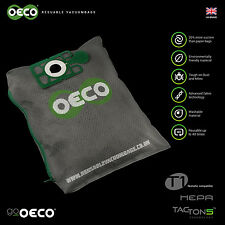 OECO re-usable Henry hoover Hetty James vacuum bag with Tacton5™  SRP £14.95