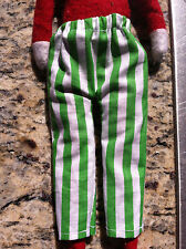 St. Patrick's Day Green & White Pants by CHRISTMAS SHELF CLOTHES for ELF PIXIE