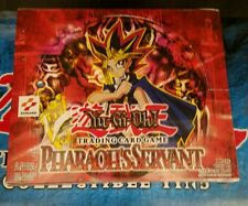 Yugioh Pharaoh's Servant English Booster Box  24ct. RARE Unlimited L@@K