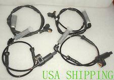 NEW Front+Rear ABS Wheel Speed Sensor SET 4PCS FIT FOR BMW E46 323i 325 328 330