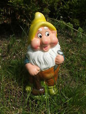 LATEX MOULD/MOULDS/MOLD. 8 INCH GNOME WITH A MALLET/ NAIL T/HAT