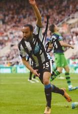 NEWCASTLE: ANDROS TOWNSEND SIGNED 6x4 ACTION PHOTO+COA
