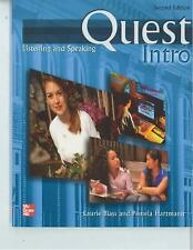 Quest Intro : Listening and Speaking - With CD