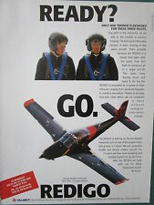 6/1991 PUB VALMET AVIATION FINLAND REDIGO TRAINER PILOT FINNISH AIR FORCE AD