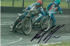 PAUL COOPER HAND SIGNED SCUNTHORPE SCORPIONS SPEEDWAY 6X4 PHOTO 20.
