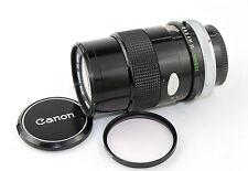 Canon FD 1:3 .5 S.C. F = 135mm Lens Teleobiettivo da ritratto classico per AE-1, A-1, AV-1.