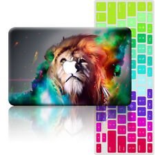 Assorted Animal Painted Hard Case+Keyboard Cover For Macbook Pro 13 15 Air 11 12