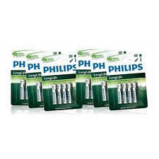 Philips AAA Batteries Disposable LR03 HR03 Cordless Phone 700mAh NiMH (12pack)