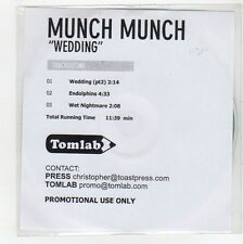(GE933) Munch Munch, Wedding - DJ CD