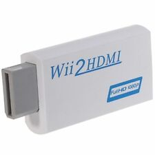 Wii a HDMI Wii 2 HDMI FULL HD 1080p Adattatore Convertitore Video Audio 3.5mm supporta novitànovità