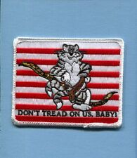 DON'T TREAD ON US BABY GRUMMAN F-14 TOMCAT US Navy Fighter Squadron Jacket Patch