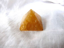 Golden Quartz Pyramid 20-25mm QTY1 Healing Crystal Reiki Energy MASTER HEALER