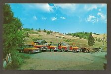 POSTCARD:  TRUCKS - STOTTS PREMIX CONCRETE & GRAVEL - CURLEW, WASHINGTON, 1960s