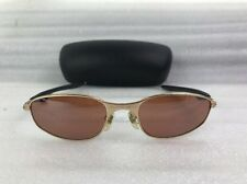 OAKLEY Metal Wire 2.0 Platinum/Gold Sunglasses Nice With Case