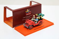 "1:43 TINTIN Jeep Willys MB 1943 red ""Tim und Struppi"" NEW bei PREMIUM-MODELCARS"