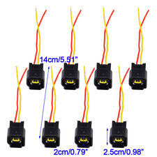 8pcs Ignition Coil Connector Modular for 1991-11 4.6 5.4 6.8L Ford Focus Mustang