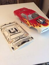 CUSTOM PAINTED HPI 7181 NEW Blown Hemi Cuda + Decals Savage Traxxas TMaxx REVO