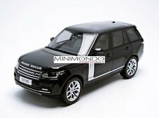 LAND ROVER RANGE ROVER 2014 NERO METALLIZZATO METALLIC BLACK 1/18 WELLY 11006
