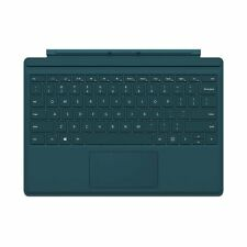 Genuine Microsoft Surface Pro 4 Type Cover Keyboard (QC7-00006) -Teal -NB- VG