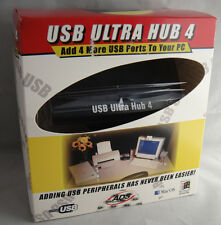 ADS Technologies USB Ultra Hub 4 Ports in the box