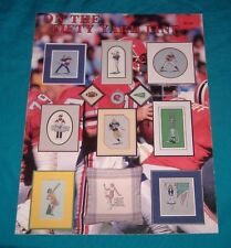 BUY3=FREESHIP CROSS STITCH BOOK On the Fifty Yard Line Football Sport game