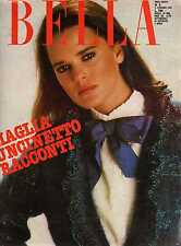 Rivista  BELLA 5 febbraio 1981 Maglia uncinetto racconti