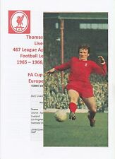 TOMMY SMITH LIVERPOOL 1962-1978 ORIGINAL HAND SIGNED MAGAZINE PICTURE CUTTING