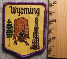 WYOMING PATCH (SOUVENIR, STATE)