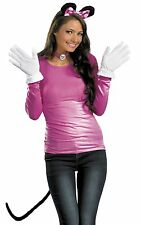 Minnie Mouse Costume Kit Pink Disney Ears Gloves Tail Mickey - Fast Ship -