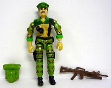GI JOE LEATHERNECK Vintage Action Figure COMPLETE 3 3/4 C8 v1 1986