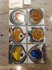 Vintage Cristal Gems Ceramic Tile Insets Wade Bathroom Tiles Rhys & Jean Powell