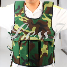 High Quality Adjustable Weighted Vest Weight Jacket Exercise Training Sales UKZ