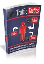 Tube Traffic Tactics Ebook On CD $5.95 Plus Resale Rights Free Shipping