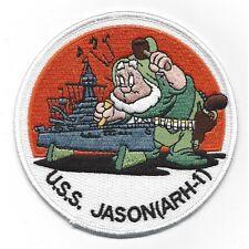 USS Jason ARH 1 Heavy Hull Repair Ship Military Patch Disney Insignia HAPPY