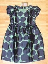 (H863) Festliches Juicy Couture Girls Sommer Kleid 55% Seide + Baumwolle gr.116