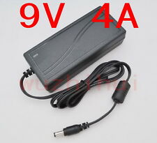AC 100V-240V Converter Adapter DC 9V 4A 36W Power Supply Charger DC 5.5mm New