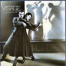 Visage by Visage (Steve Strange) CD 1980's New Wave Industrial RARE