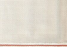Zweigart Mono 14 count White Blank Needlepoint Canvas Priced per 1/4 Yard