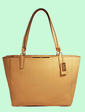 COACH 29002 MADISON Tan Saffiano Leather E/W Tote Bag Msrp $298 *FREE SHIPPING